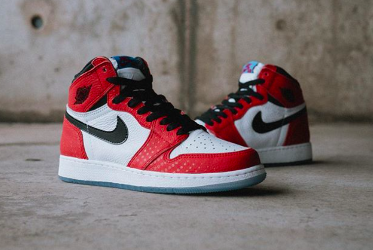 air jordan 1 spiderman